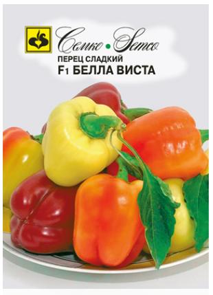 Плоды сорта перцев Белла Виста